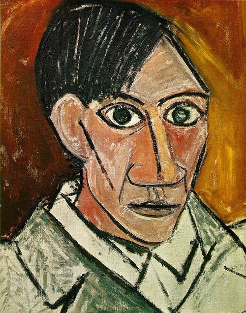 Picasso - Self Portraits in Chronological Order 1901-1972 (6)