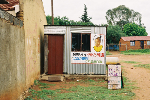 Simon Weller - South African Township Barbershops & Salons (1)