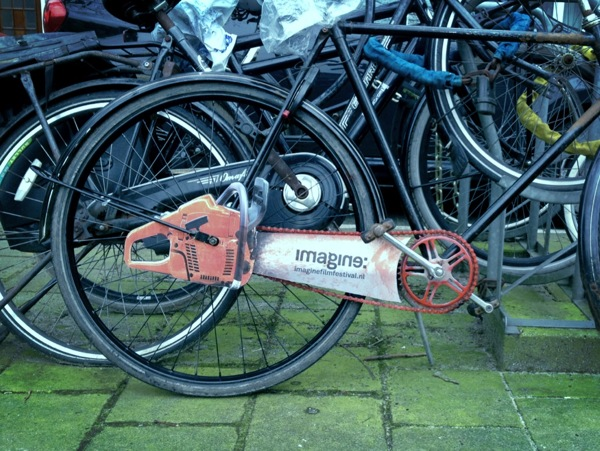 Van Wanten Etcetera - The Amsterdam Chainsaw Bicycle (1)