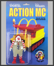 "Ron English - Action MC - ""GID Edition"""