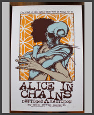 Jermaine Rogers -  Alice in Chains  Seattle