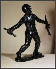 Frank Kozik - Big Army Man - Black