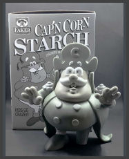 Ron English - Cap'n Cornstarch (Monotone)