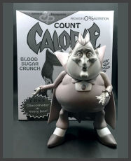 Ron English - Count Calorie (Monotone)