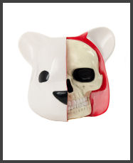 Luke Chueh - Dissected Bear Head (White)