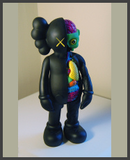 KAWS - The Dissected Companion 5YL - Black
