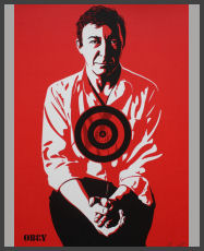 Shepard Fairey - Jasper Johns