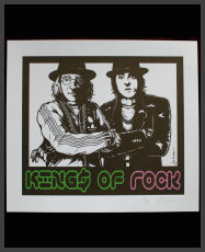 Jermaine Rogers - Kings of Rock Handbill