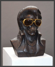 the_king_is_dead_bronze_frank_kozik
