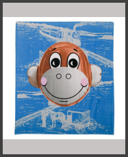 Jeff Koons - Monkey Train Limited Edition Towel