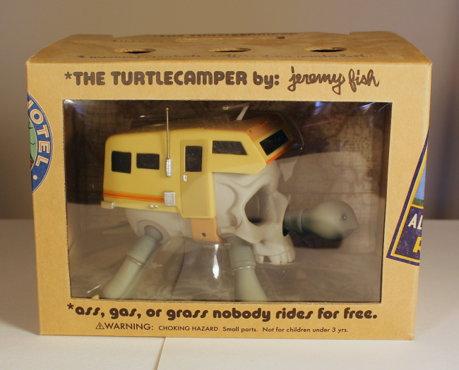 Jeremy Fish - Turtle Camper Bone