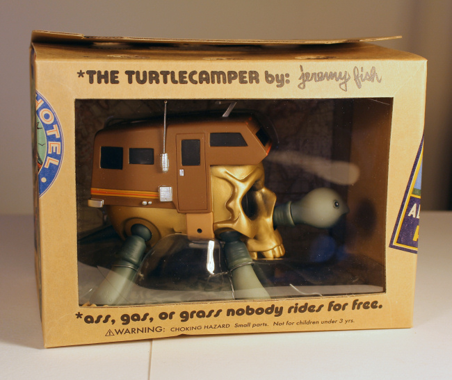 Jeremy Fish - Turtle Camper Gold