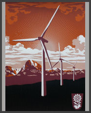 Shepard Fairey - Windmill